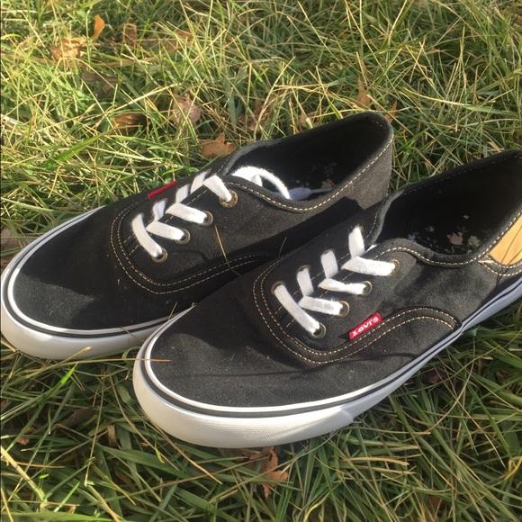 245f24af3571 Levi s Shoes - Vans style shoes size 7.5